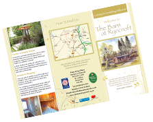 Ludlow Holiday Let Leaflet